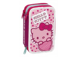 ASTUCCIO TRIPLO HELLO KITTY 87417