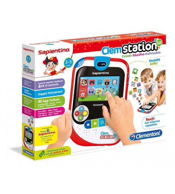 ClemStation 5.0 -  Console Educativa Multimediale -  Edizione 2017 Clementoni