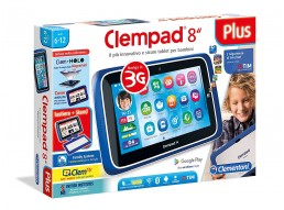 "Clempad Tablet 8"" Plus -  [Versione 2017] - Clementoni 16605 –"