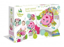 Clementoni 17143 - Tavolo Attività Baby Minnie