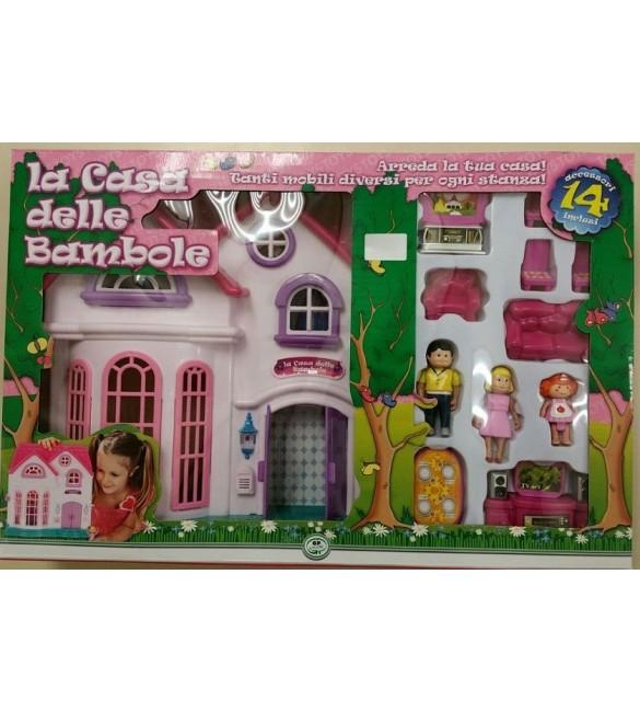 la casa delle bambole basic rdf50403