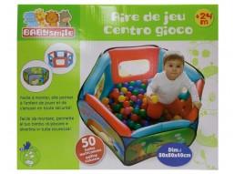 BABY SMILE - CENTRO GIOCO CON 50 PALLINE RDF50969