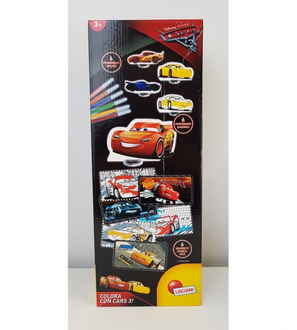 Coloring Cars 3 Special Edition - Giocheria HDG70266