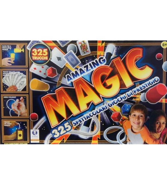 AMAZING MAGIC 325 SPETTACOLARI GIOCHI DI PRESTIGIO - GIOCHERIA