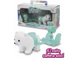 Glimmies- Cofanetto Glimsled con 1 Polaris Exclusive, GLP04, Multicolore