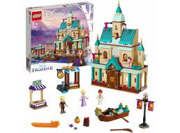 LEGO Frozen Il villaggio del Castello di Arendelle 41167, Ricrea la Magica Atmos