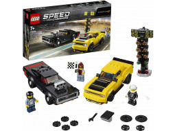 LEGO 75893 Speed Champions - 2018 Dodge Challenger SRT Demon e 1970 Dodge Charge