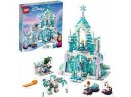 LEGO 43172 - Frozen Magico Castello di Ghiaccio di Elsa Giocattolo, Multicolore