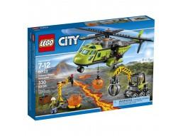 LEGO ELICOTTERO DEI RIFORNIMENTI VULCANICO 60123