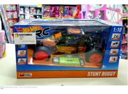 Radiocomando Hot Wheels Stunt Buggy in Scala 1:10 con Batterie Ricaricabili INCLUSE