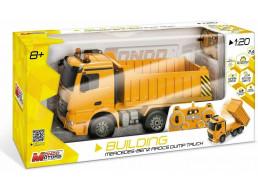 Mondo Motors-Mercedes Arocs Dump Truck in Scala 1:20-Camion RC Mezzo da Lavoro